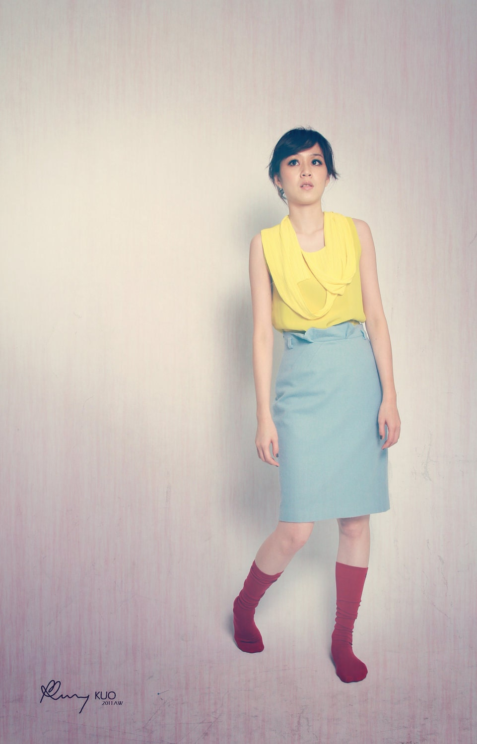 Procope Pencil Skirt - oukymmik