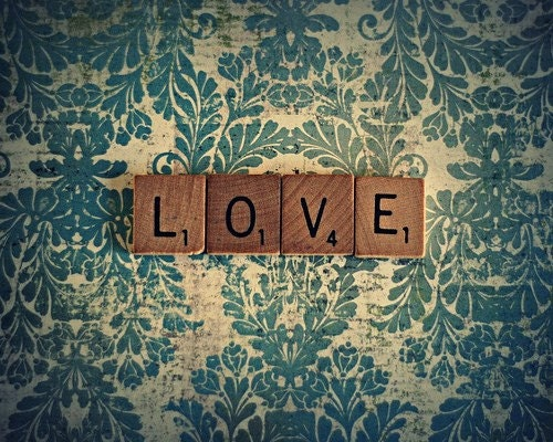 It's Spelled Love 8x10 Fine Art Photography Print - Ready To Ship For Your Valentines