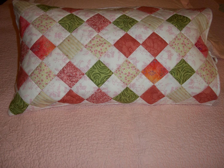 Decoraci n de rincones ideas para hacer cojines en patchwork - Cojines de patchwork ...
