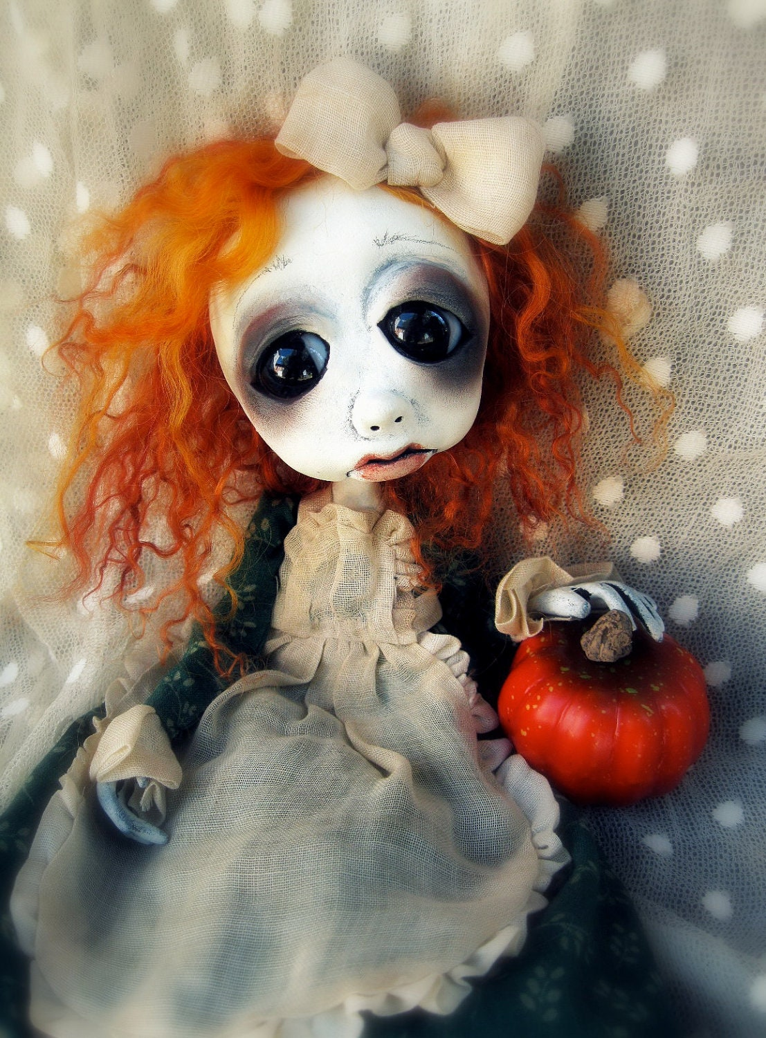 Loopy ooak Gothic Art Halloween decoration Doll Melissa RESERVED for R