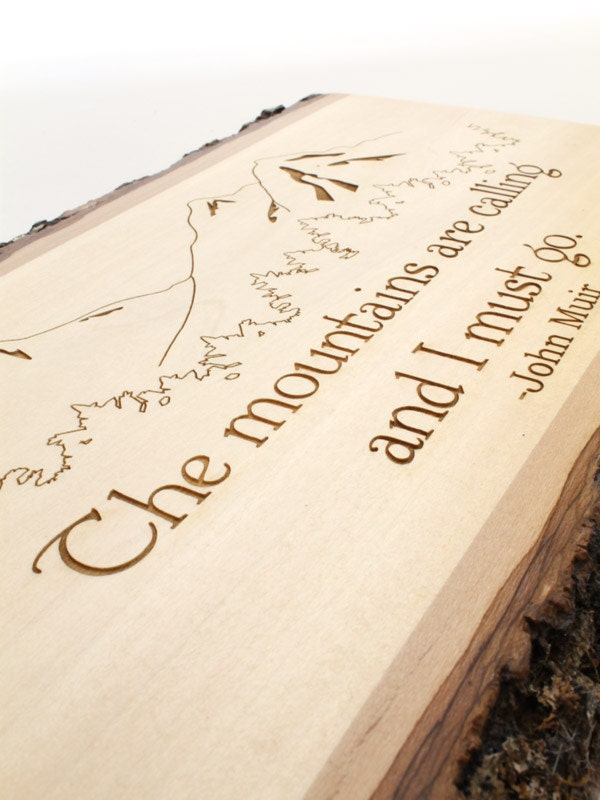 Rustic Decor - Quote Plaques . Sustainable Wood Products from ...