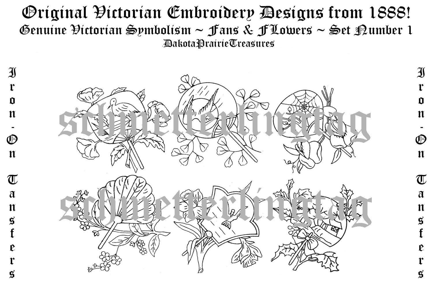 Hand embroidery iron on transfers free patterns