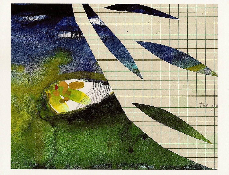 Fine Art Print of Mixed Media Original Modern Colorful Art for the Home - annamariapotamiti