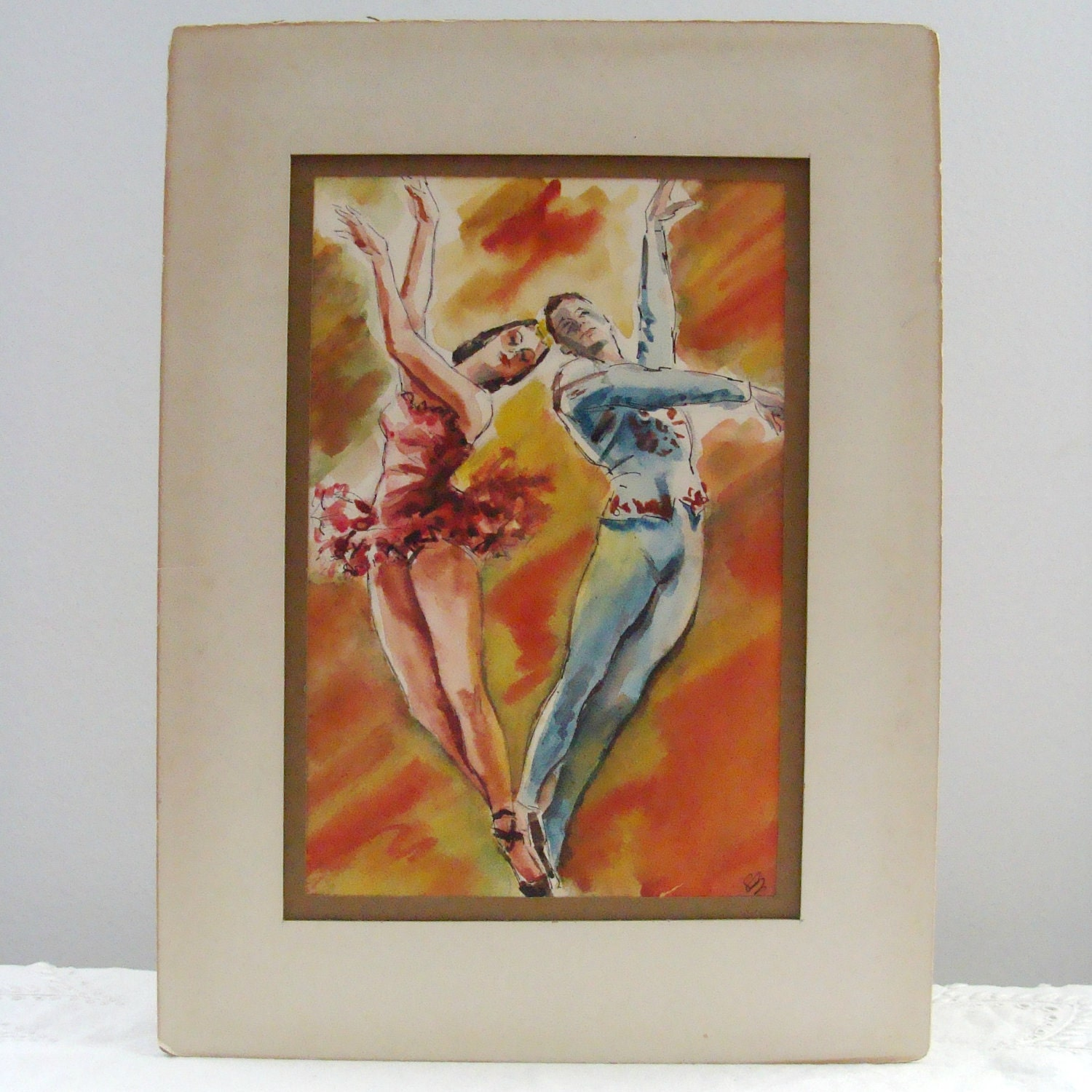 Ballet Couple Dancing