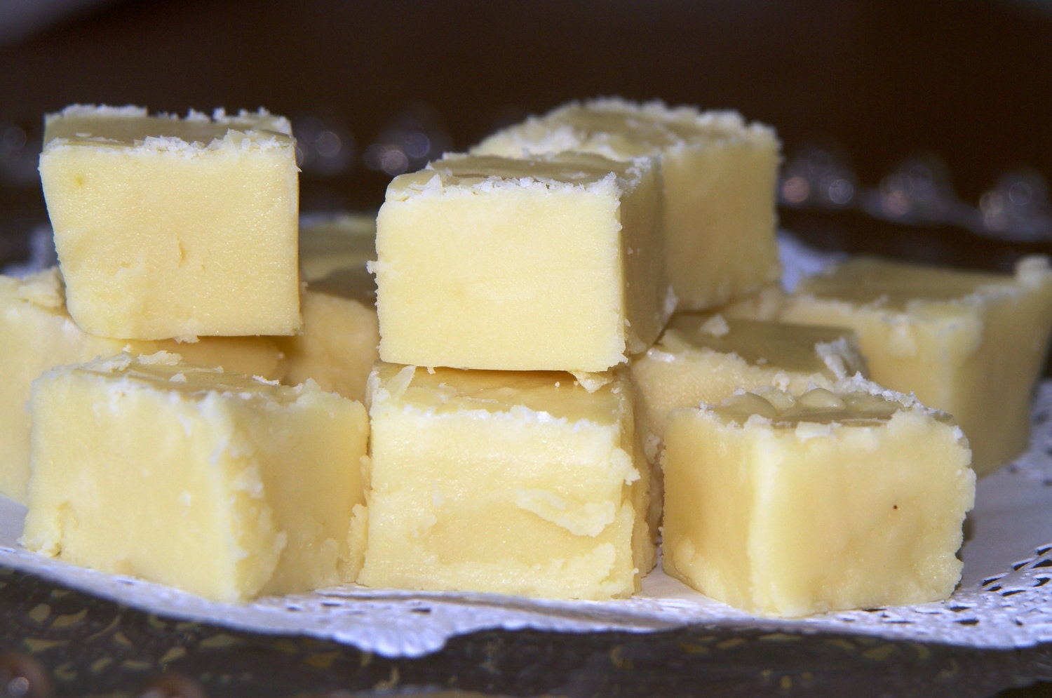 Homemade Lemon Fudge - One Pound