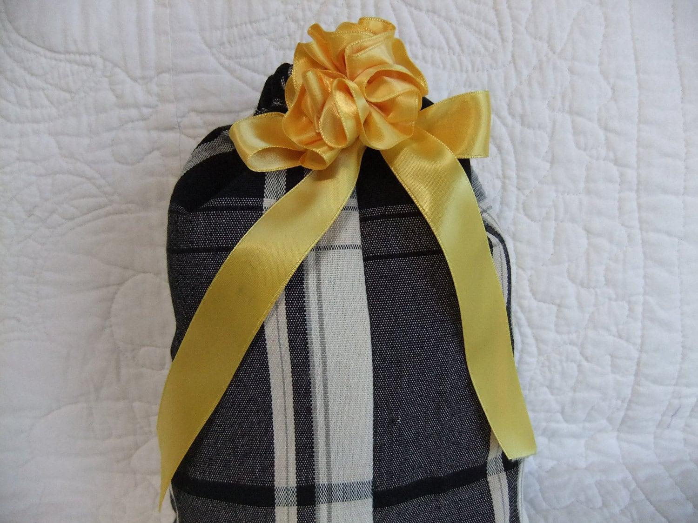 Eco Friendly Reusable Cloth Drawstring Gift Bag