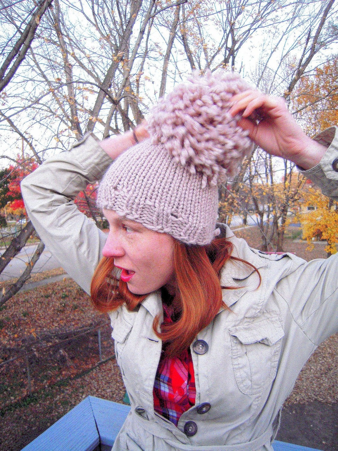 Superpoof snowbunny hat