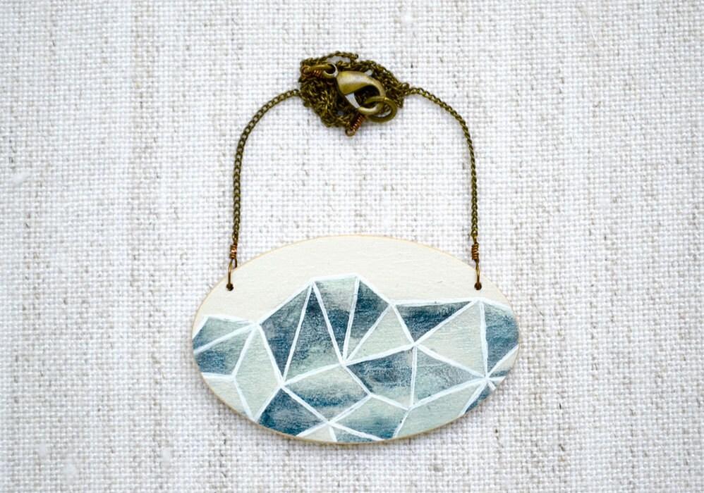 Meghann Rader Handpainted Geometric Jewelry