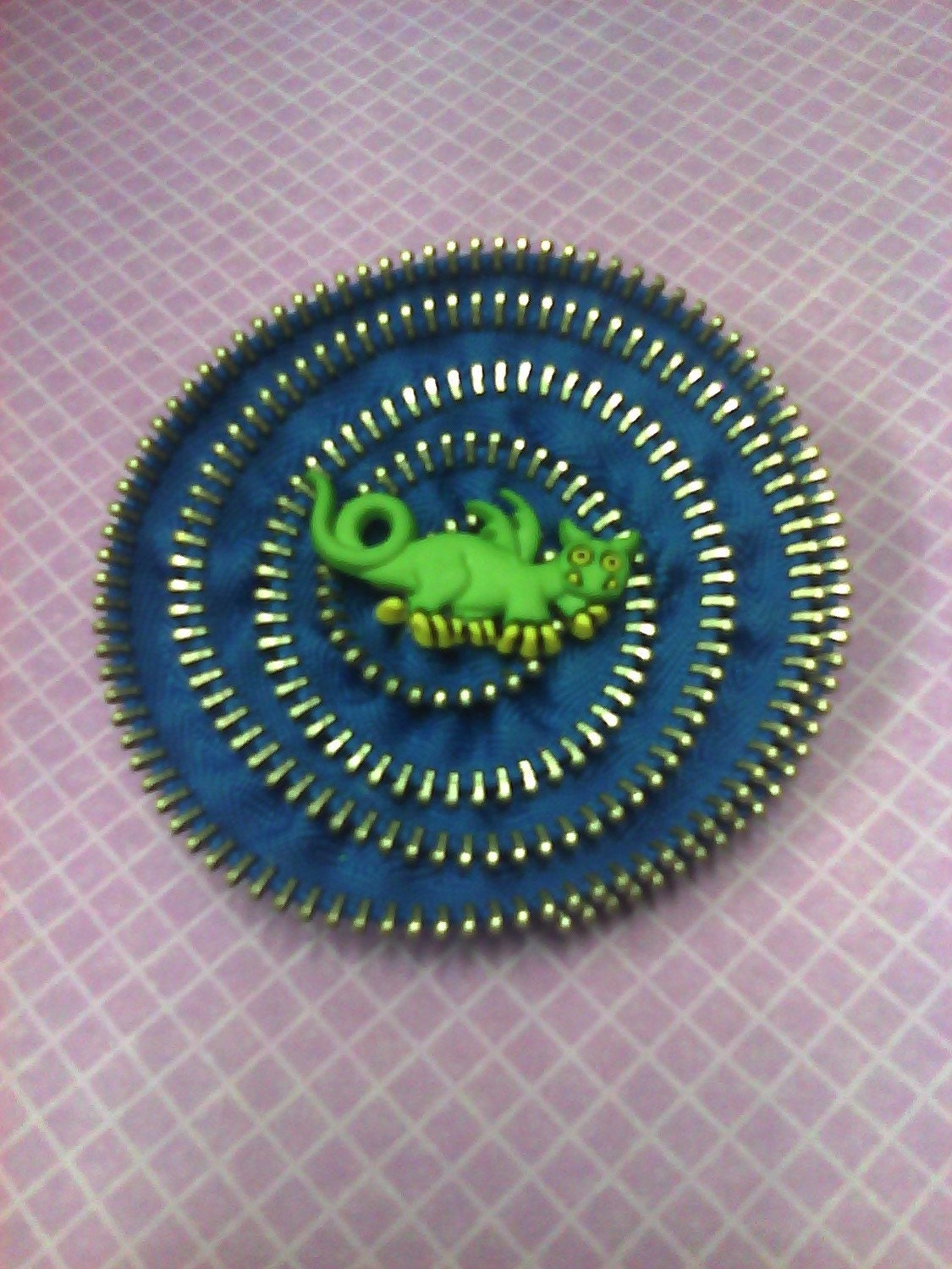 Dragon Zipper Brooch