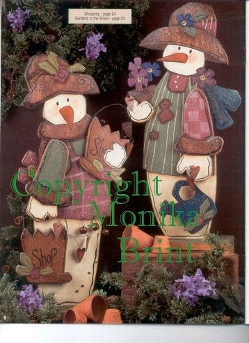 Craft Ideas Etsy on Primitive Snowmen Christmas Decor Personalized Gift Ideas For Her