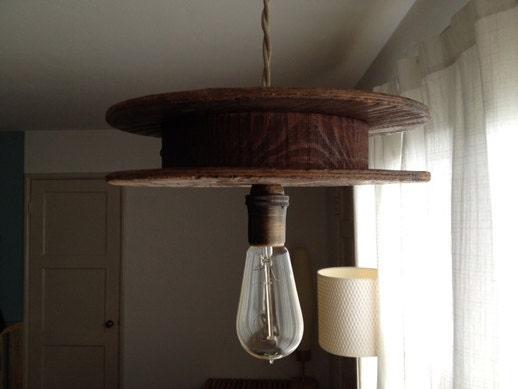 El cableado antiguo cola de la lámpara