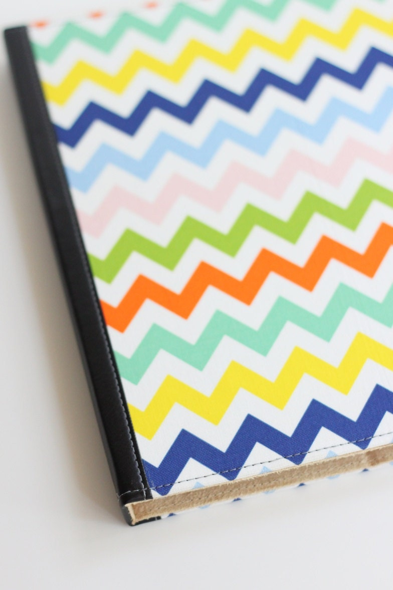 iPad 2 / New iPad Case Custom - Multicolor Chevron