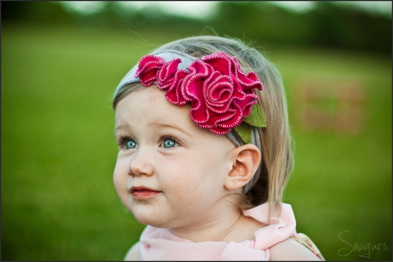 Лесные ягоды гортензии SNUGARS оголовье младенец новорожденный малыш голову девушки группы