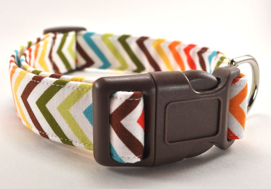 The Chevron - Dog Collar - CollarsByDesign