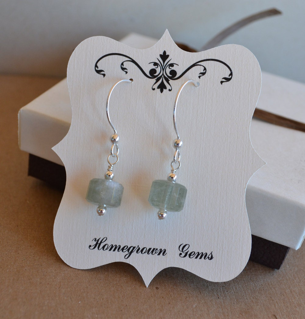 custom designed earring cards jewelry tags