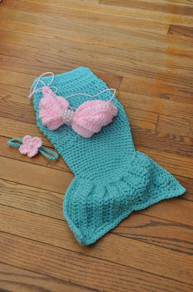 Little Mermaid Prop Set - 6-9months