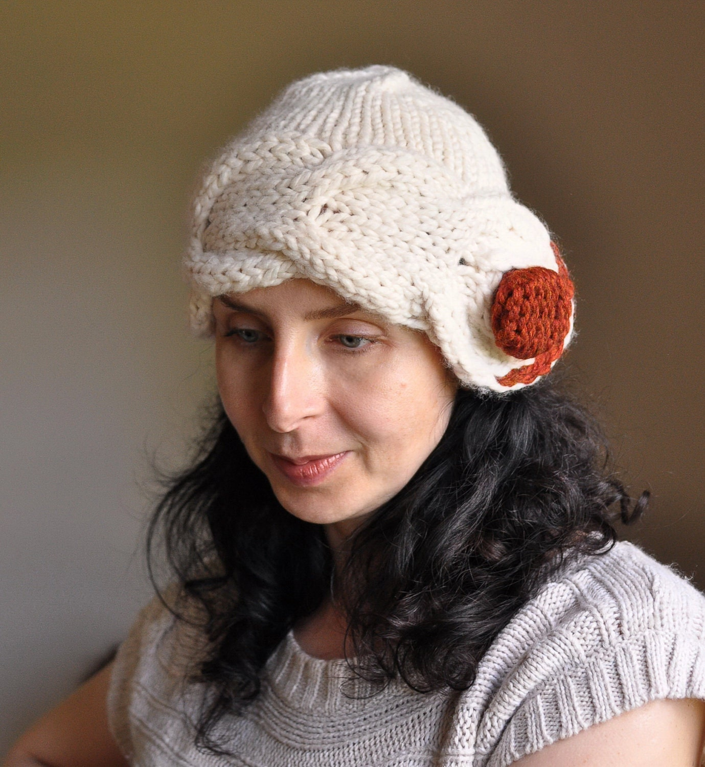 Freezebaby Hat - classic cable super chunky designer cloche hat - MADE TO ORDER in 16 colors