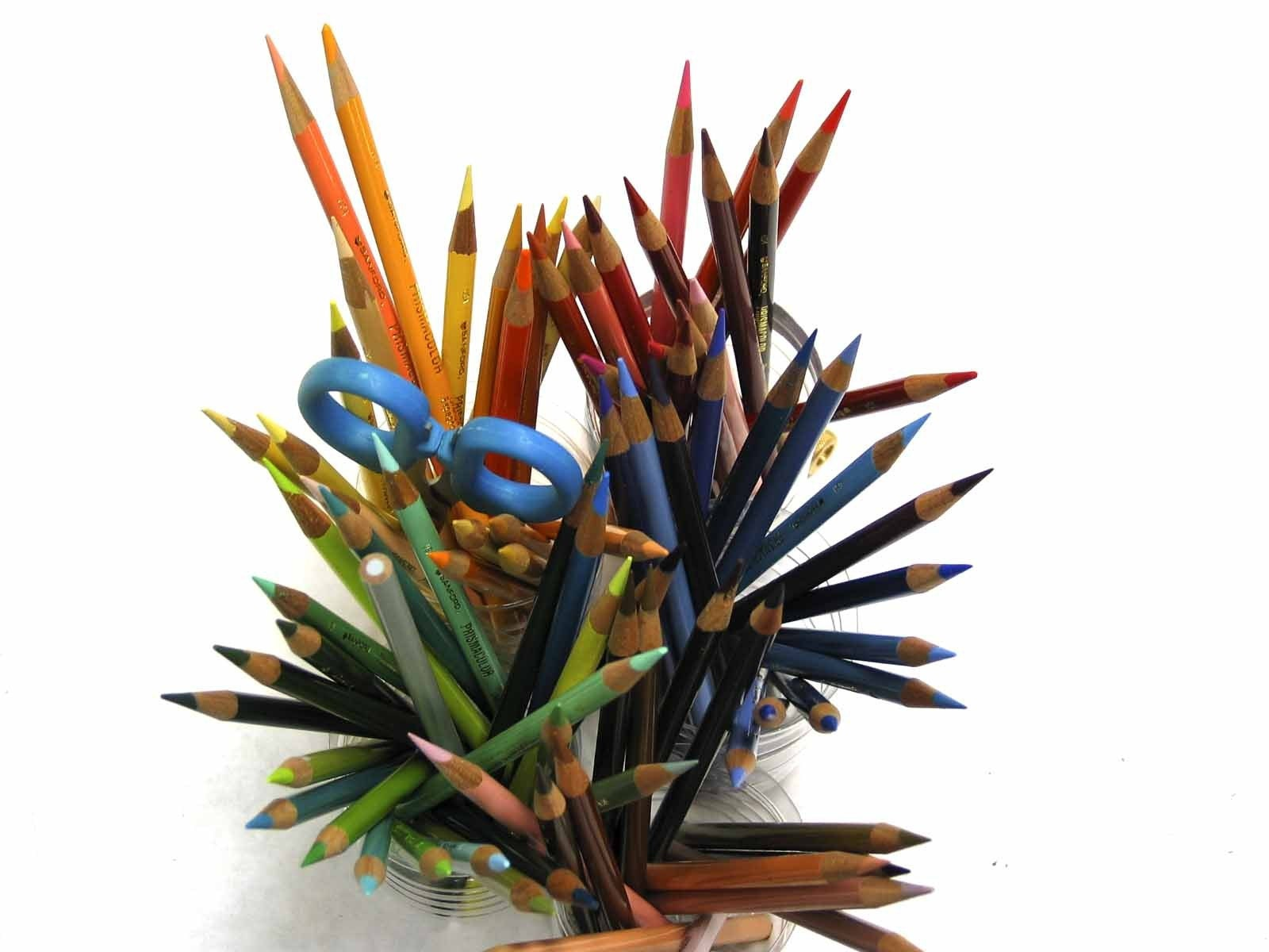 Colored Pencils Fine Art Photo