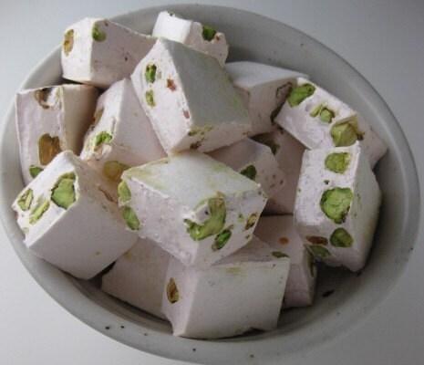 Rose Pistachio Nougat 1 pound - sweetniks