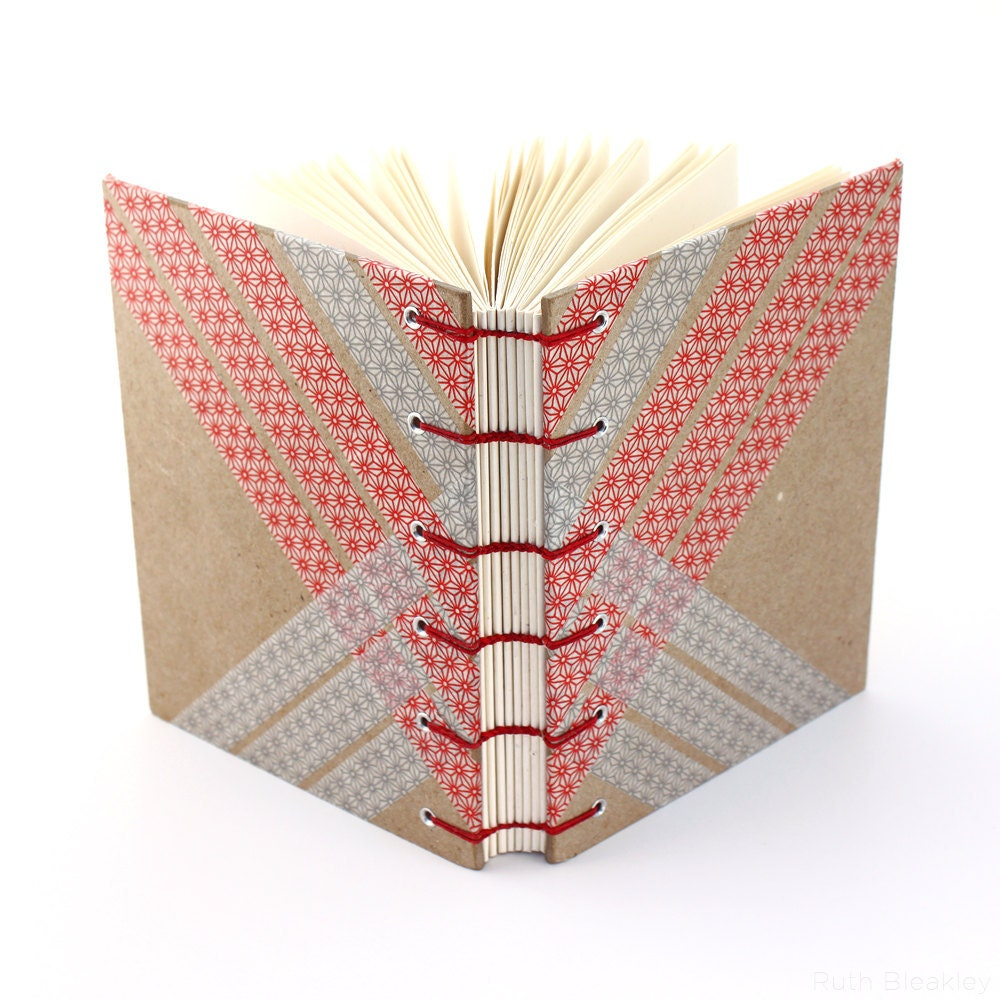 handmade washi tape book