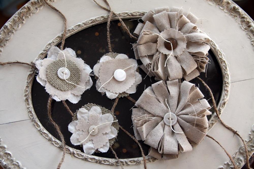 Многоуровневая баннер цветов ткани