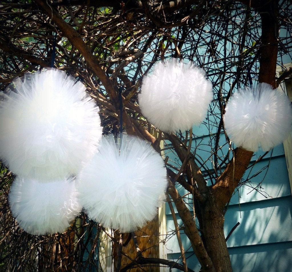 Tagged: tulle pew bows , tulle tent decoration , decorate with tulle ...
