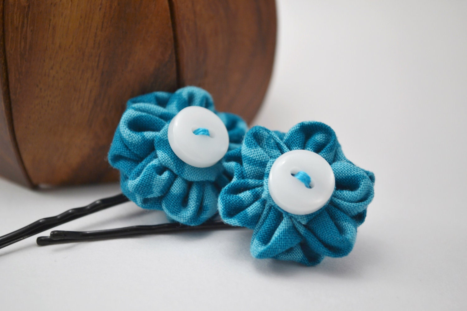 Customize Your Own Flower Hair Slides