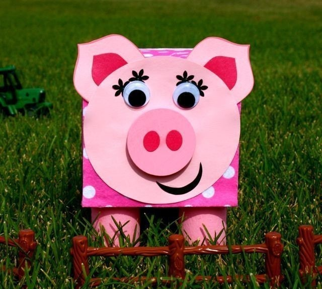 Smart bottom enterprises craft kits for Piggy bank craft