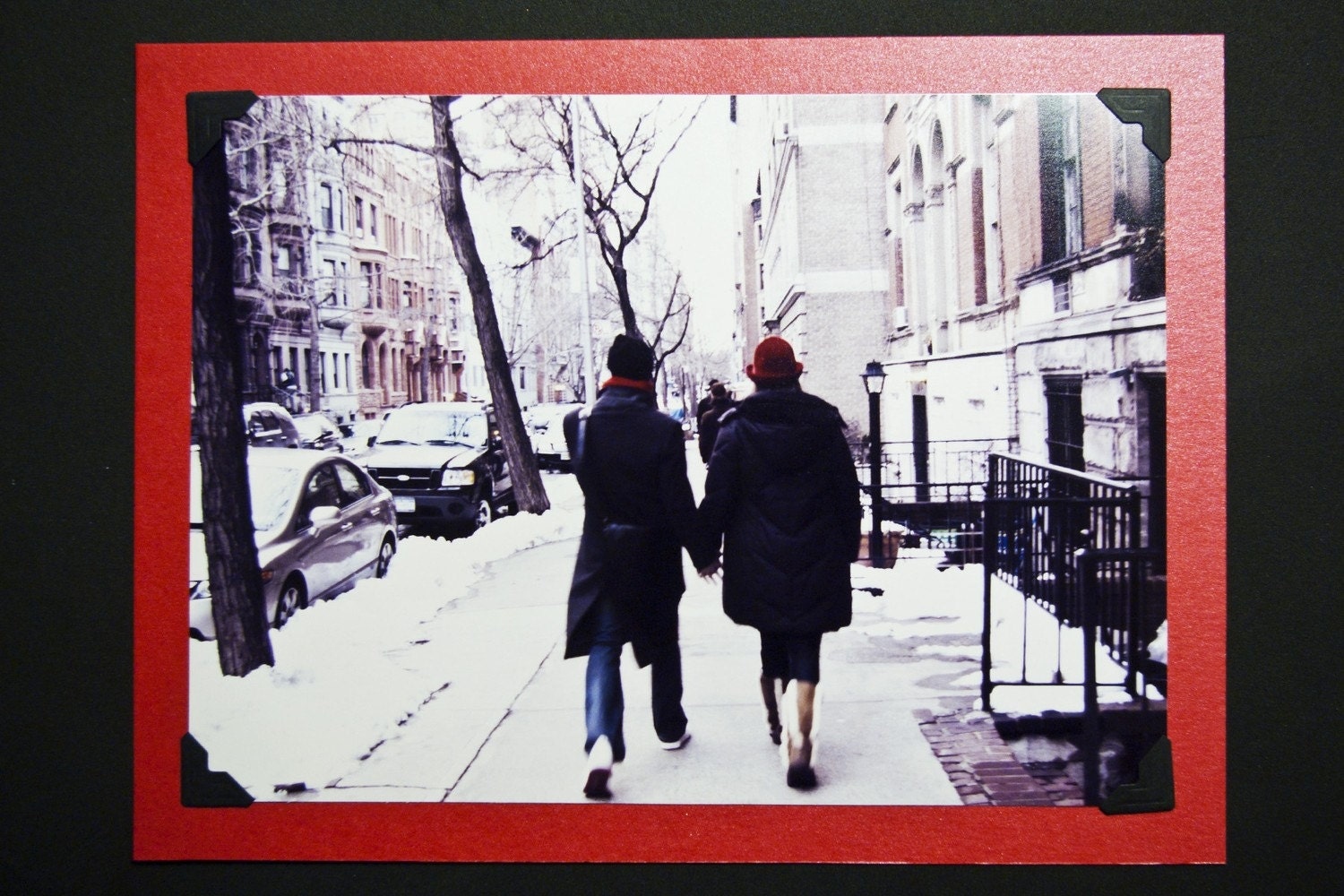 Love is red (Postcard)