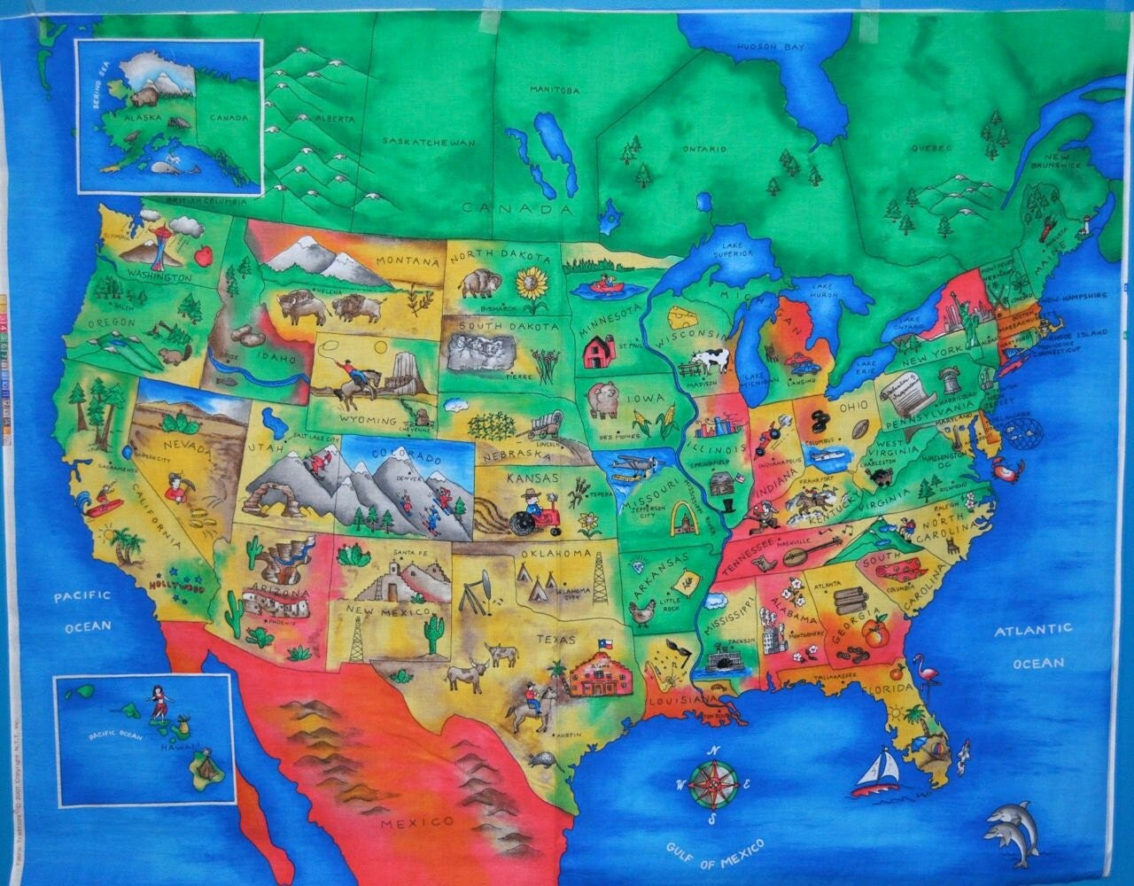 GeoSeeker USA New Geography Seek And Find Games From Selectsoft - Us map full state names