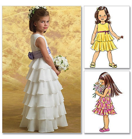 Cupcake Pageant Dress Pattern For Sewing - LuckyDressShop.com