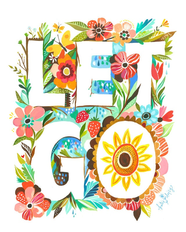 Let Go 8x10 Print