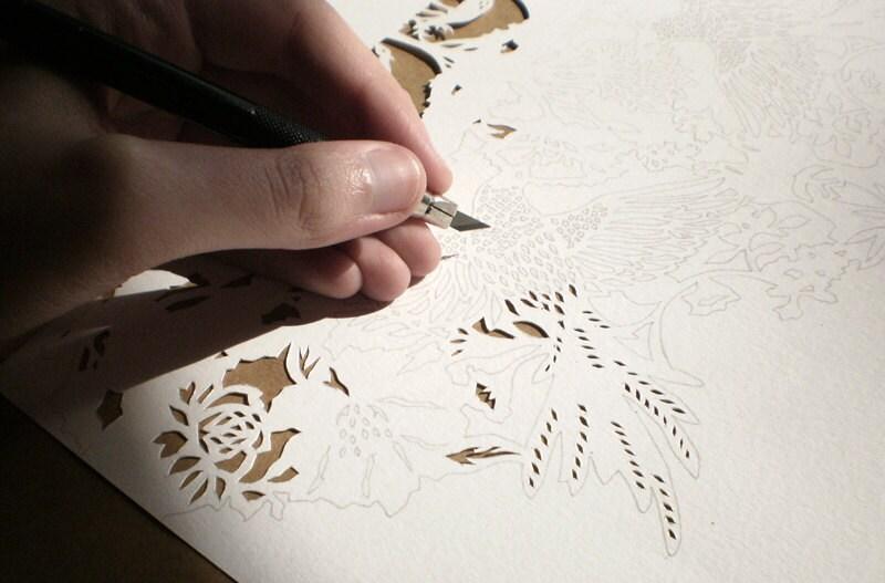 Custom papercut - WoodlandPapercuts