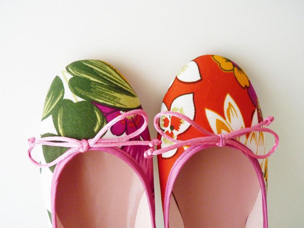 Flowerbed: Handmade Ballet Flats from De Bonis Orquera
