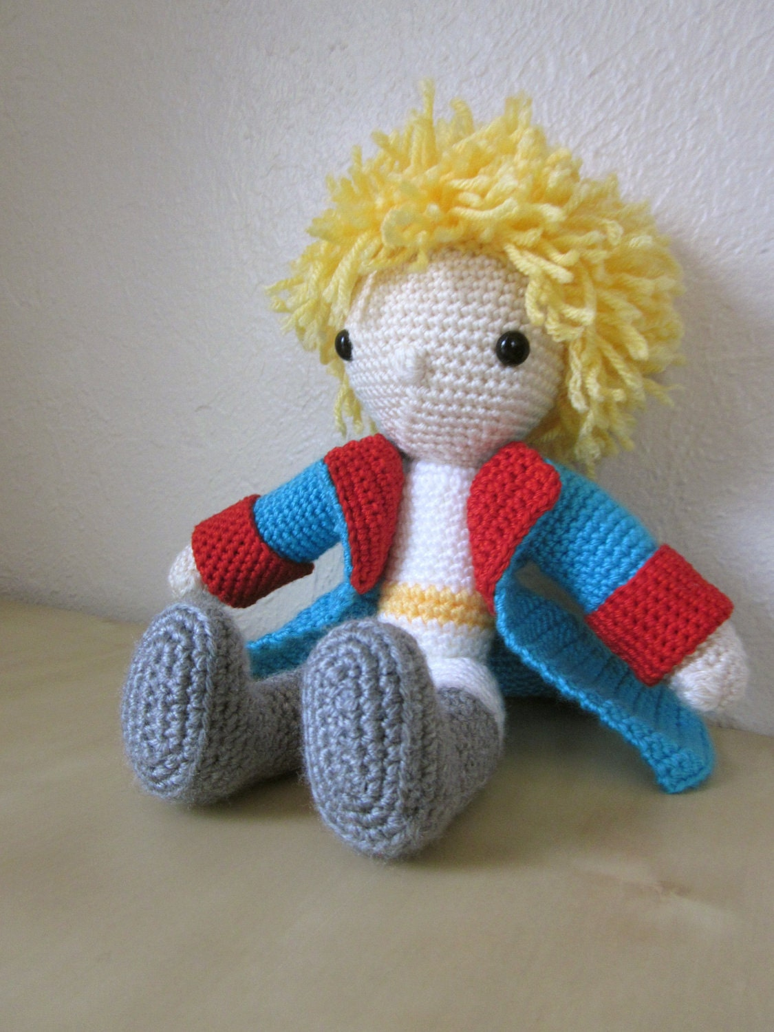 Little Prince Amigurumi Free Pattern : wundertime: Snuggle Your Little Prince