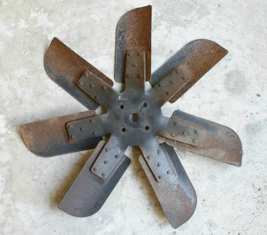 Industrial Fan Blades : Half price sale vintage industrial fan blades