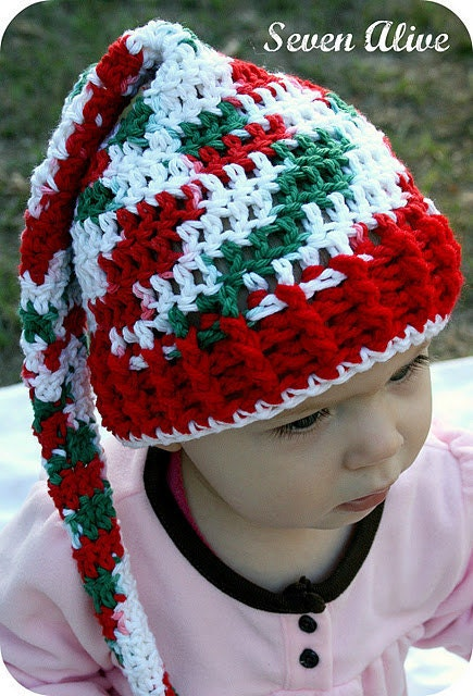 Christmas Stocking Hat Crochet Pattern