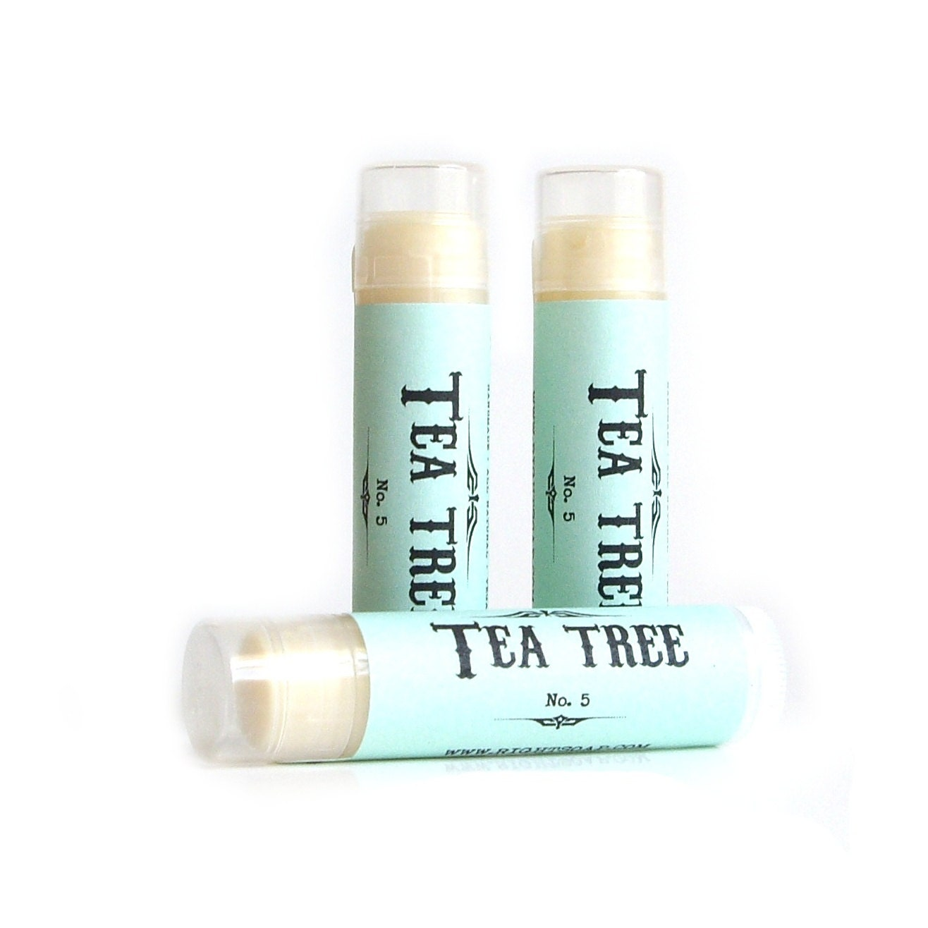 Tea Tree Lip Balm - Vegan - lip balm Natural - RightSoap
