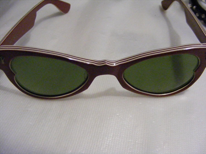 Bakelite Thick Rimmed Sunglasses