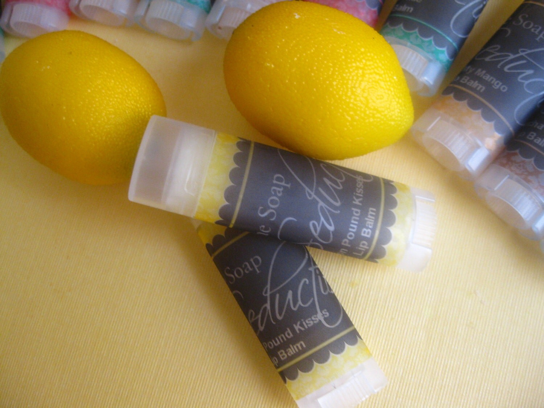 Lemon Pound Cake  Moisturizing Lip Balm-New Formula All Vegan