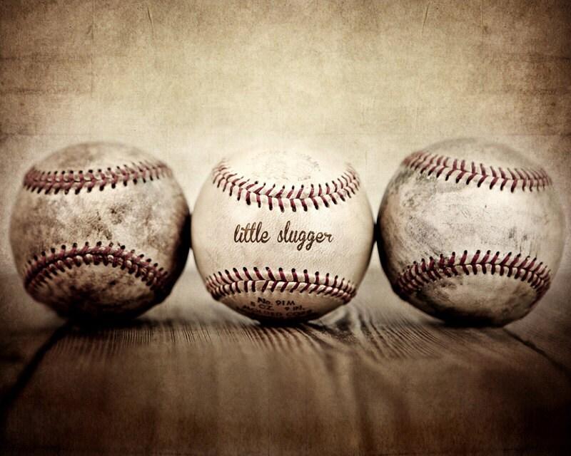 ON SALE Vintage Baseballs Little Slugger Digital Download - shawnstpeter
