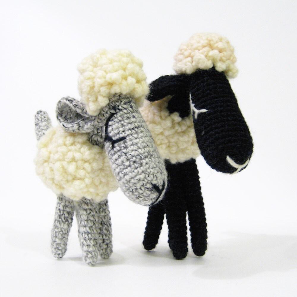 Bob and Daisy, The Sheep - Amigurumi Pattern