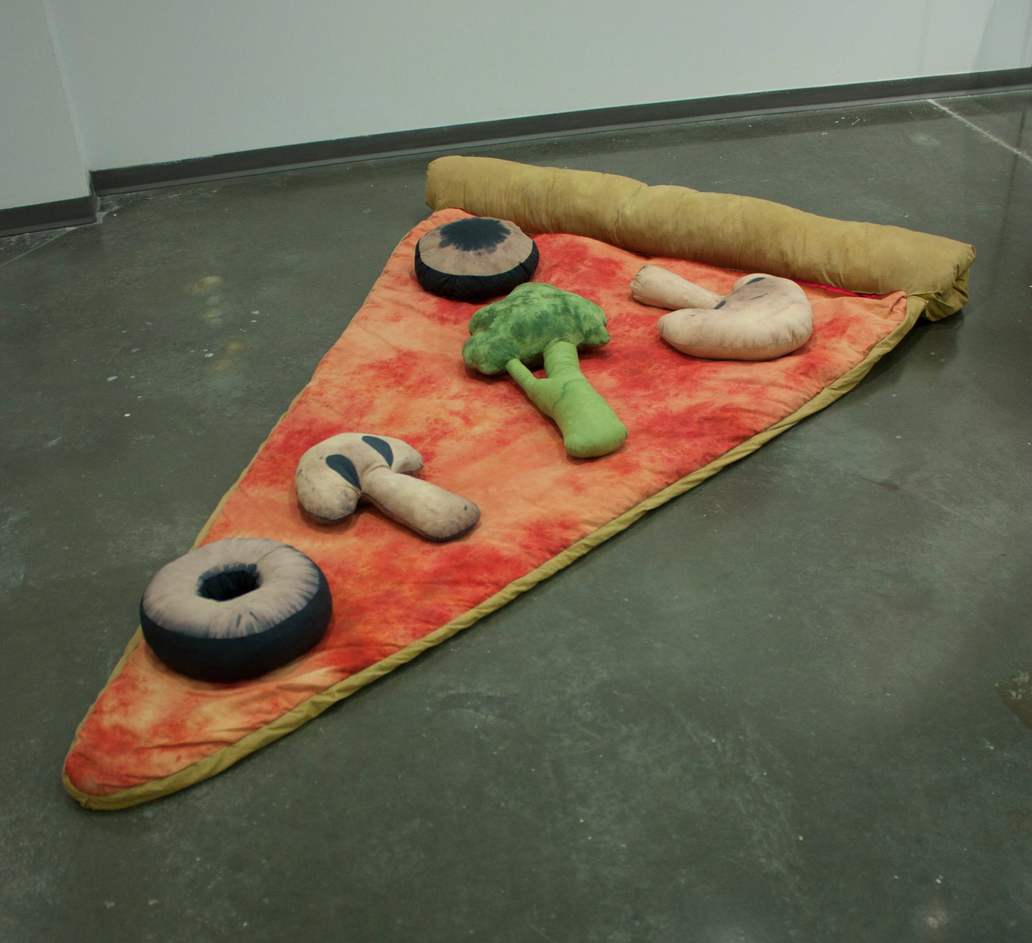sac de couchage pizza