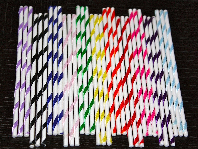 Colored Cake Pop Sticks