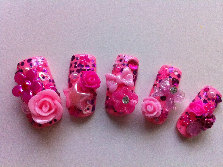 3D Acrylic Nails,3D Acrylic Nails,3D