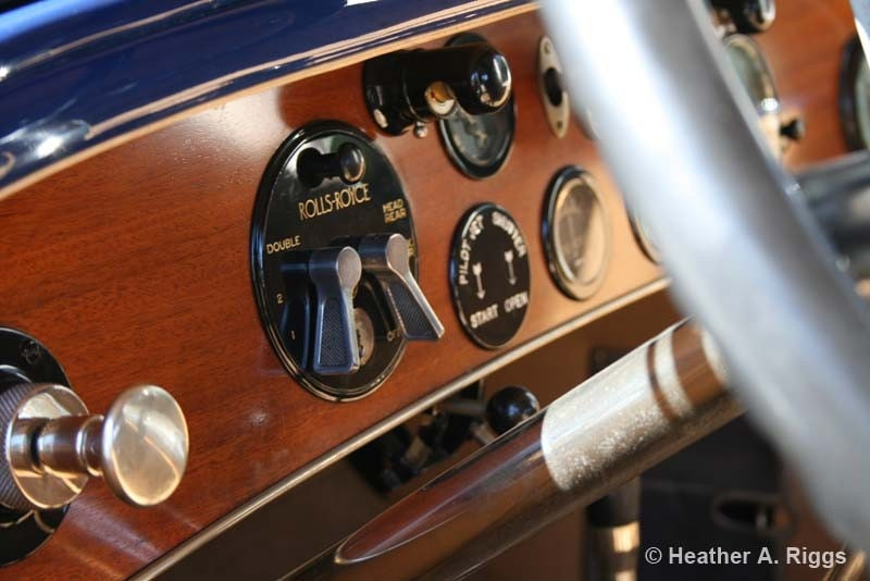 1925 Silver Ghost Piccadilly Roadster Car Dash