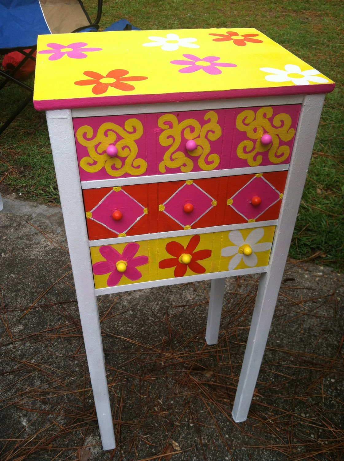 Whimsical On Pinterest Whimsical Painted Furniture Painted Tables