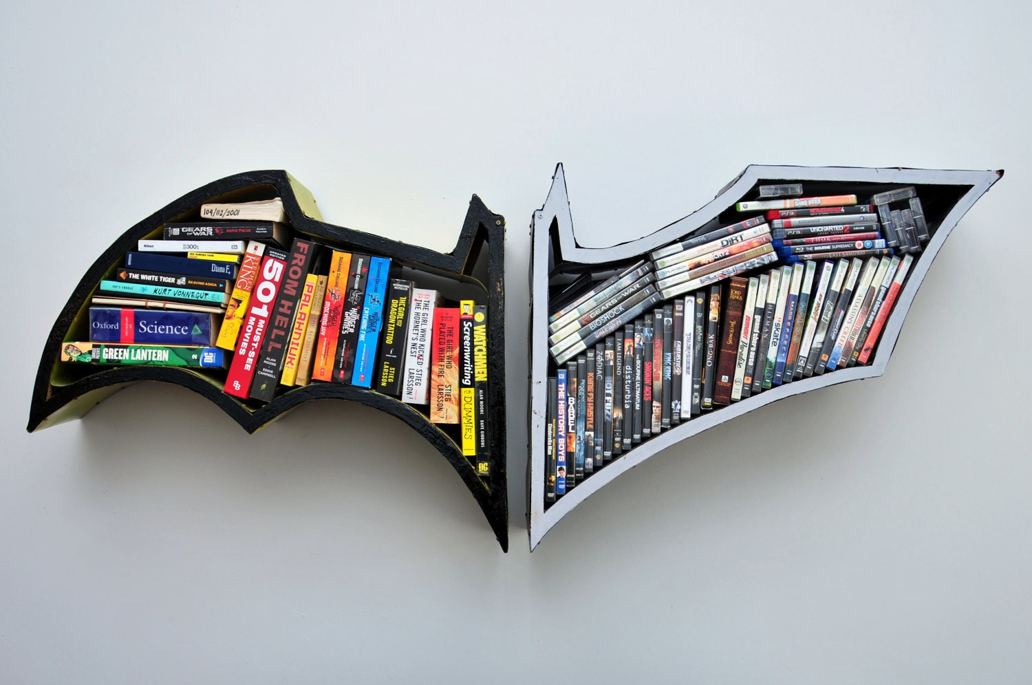 Batman Bookshelves