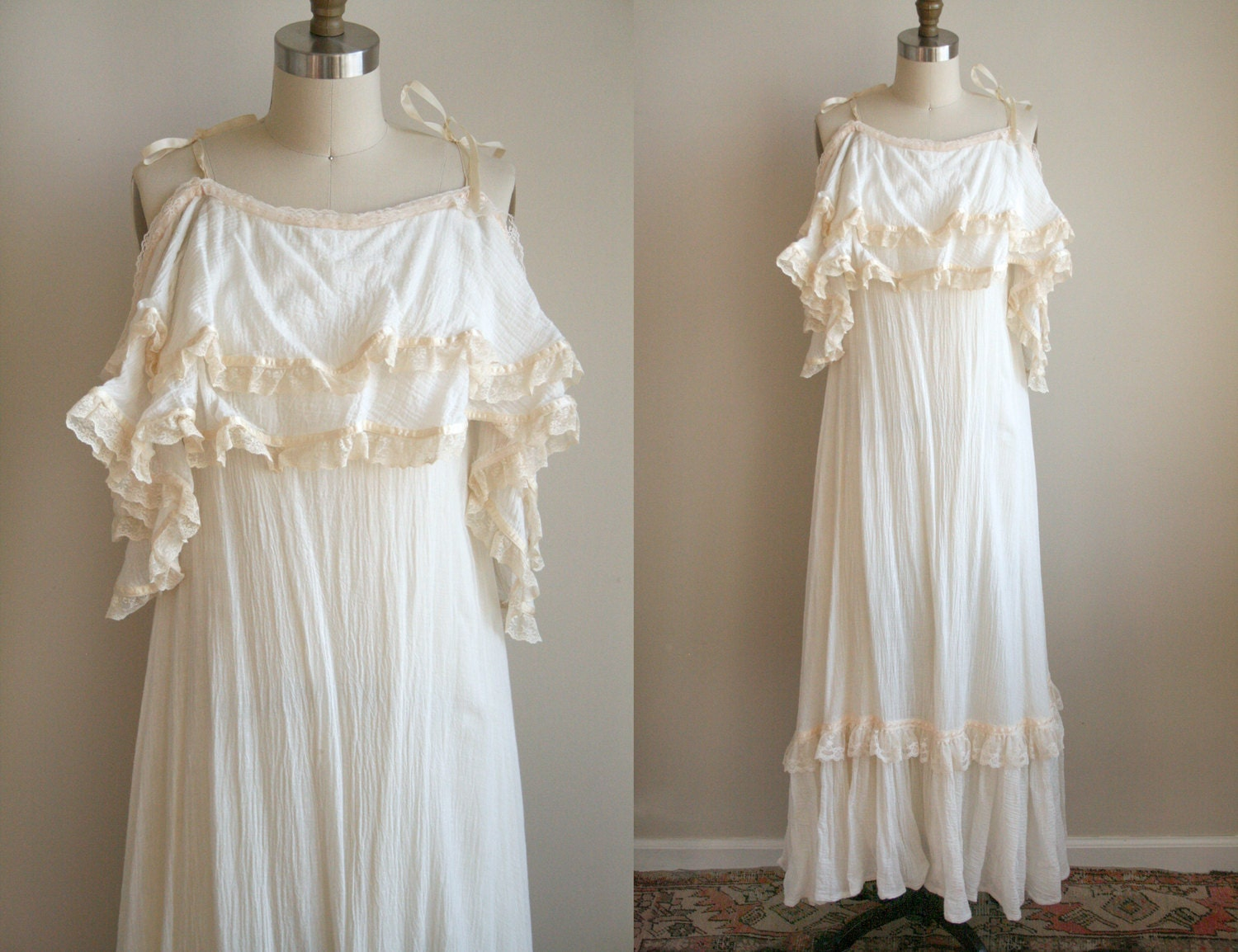 Vintage Mexican Wedding Dresses For  : Mexican wedding dresses