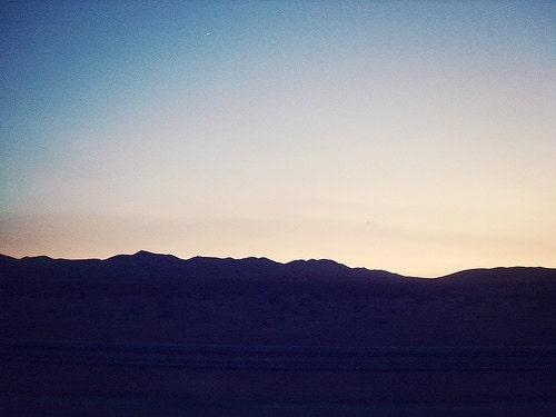 Adventure Photography, Road Trip, Nevada, Landscape Photography, Purple Blue Nature, Mountains, Shabby Chic Decor -Purple Haze (8x10) - urbandreamphotos